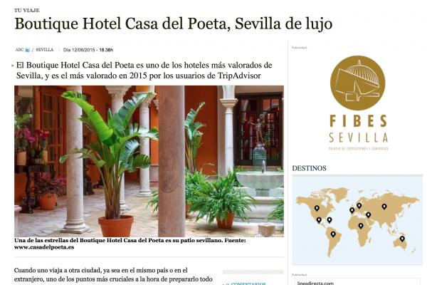 hotel con encanto en Sevilla opiniones ABC Sevilla