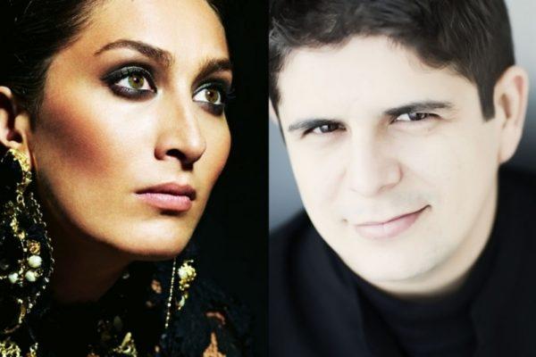 Estrella Morente y Javier Perianes en concierto en el Teatro de la Maestranza