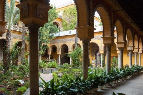 PALACIO DE DUEÑAS DE LA CASA DE ALBA