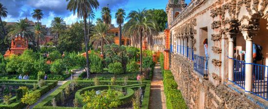 Info touristique seville hotel boutique en el centro de sevilla - Jardines de sevilla ...