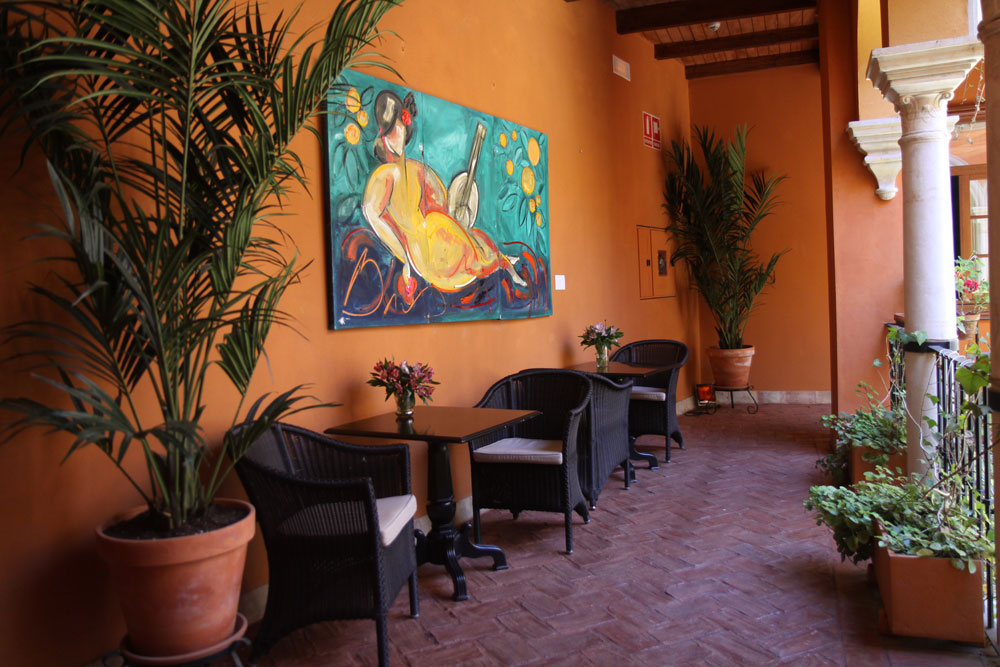 Patio de Boutique Hotel