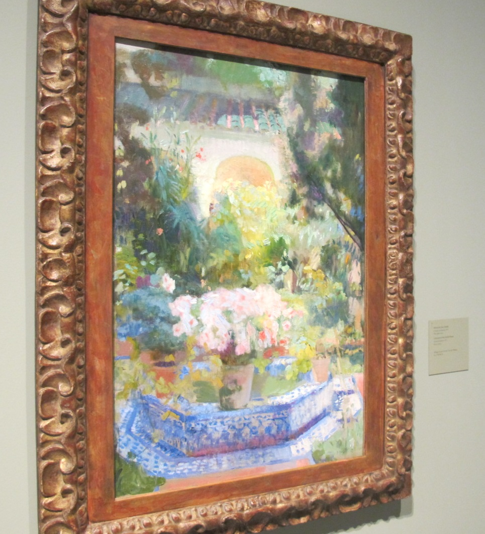 cuadro de ejemplo de la exposición